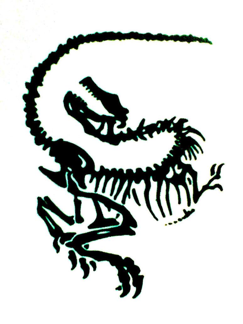 Dinosaur Tattoo Design by JuanIglesias90 - 84.5KB