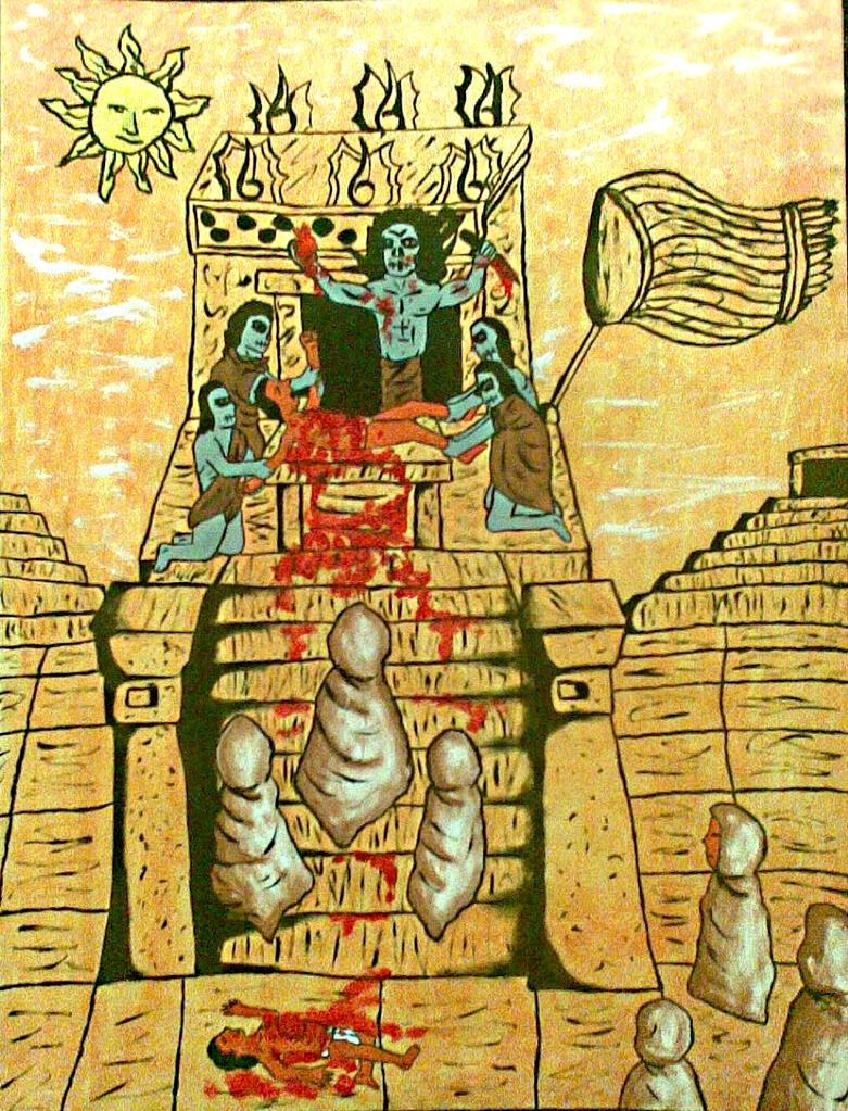 Aztec sacrifice girl naked movie