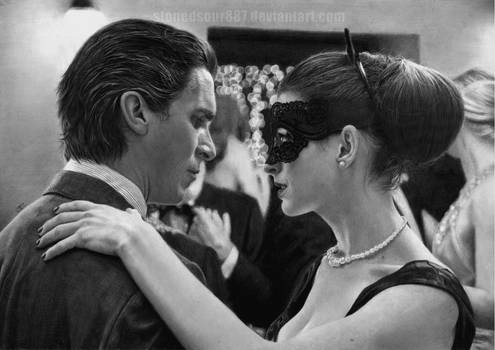Christian Bale and Anne Hathaway