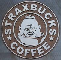 Strax the Sontaran coaster by geekbrit