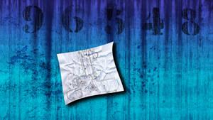 Blue Diesel Wall