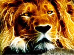 Fractalius Lion by JovanXtremeDesign
