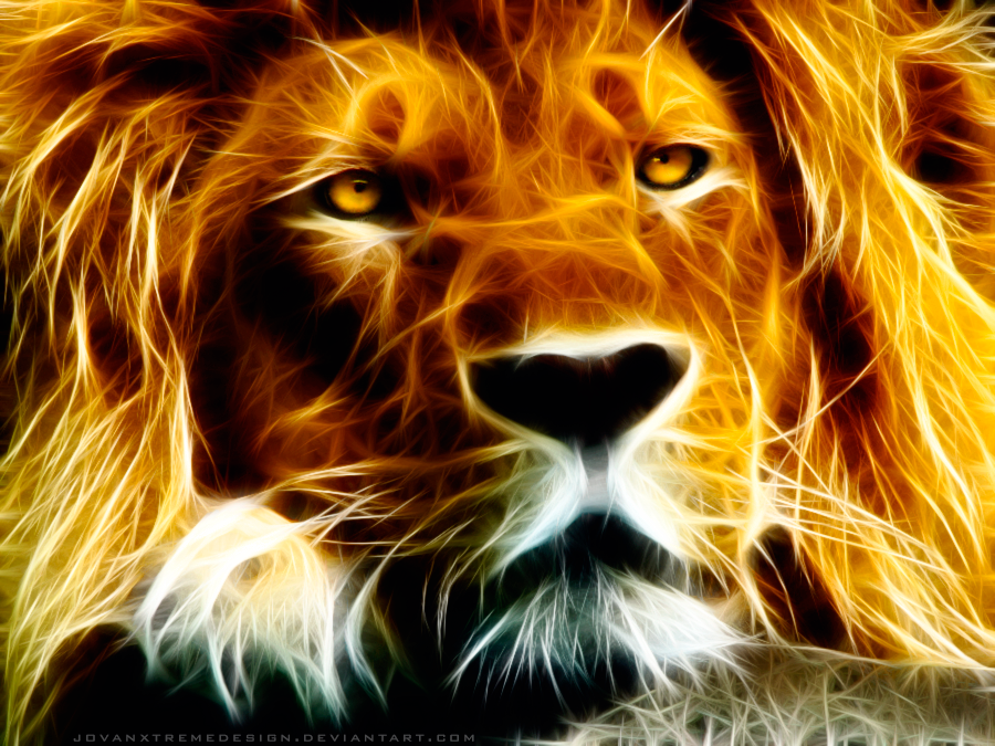 Fractalius Lion by JovanXtremeDesign
