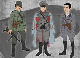 German Character Concepts by MasterDoodleJoe80062
