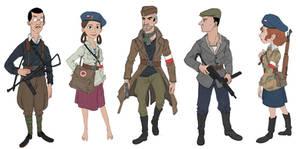 Polish Home Army Sheet#1