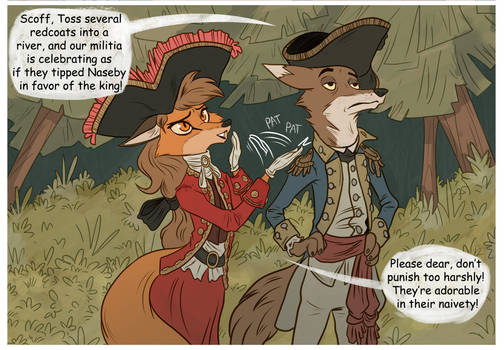 Tale of two foxes panel