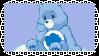 Grumpy bear Stamp by Buniis