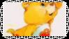 Secret Bear Stamp [Tangerine] by Buniis