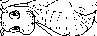 Miiverse Drawings: Dragonite by ThatCuteDinosaur