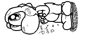 Miiverse Drawing: Dino Chub by ThatCuteDinosaur