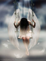 Lonely Angel by ObscureLilium