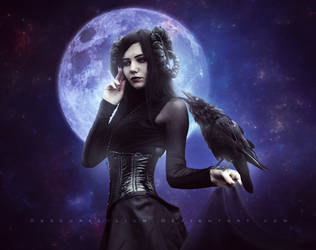 Lady of the Darkest Night by ObscureLilium