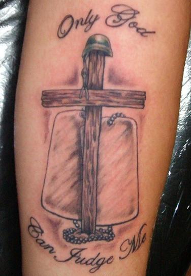 Tattoo design tattoo ideas by hilda currin for Wood cross tattoos