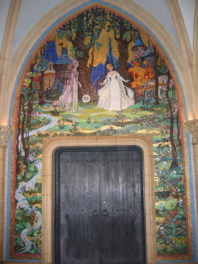 MK Cinderella Castle Mural 4 by AreteStock on DeviantArt