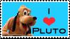 Pluto Stamp by AreteStock