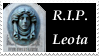 R.I.P. Leota Stamp by AreteStock