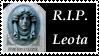 R.I.P. Leota Stamp by AreteStock