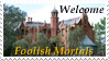 Welcome Foolish Mortals Stamp by AreteStock