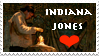 Indiana Jones Stamp by AreteStock
