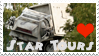 Star Tours Stamp by AreteStock