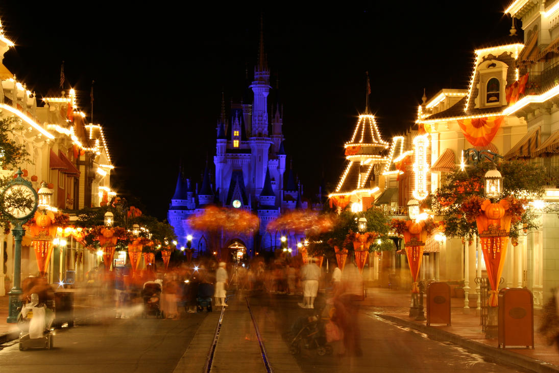 magic kingdom halloween 28 by aretestock