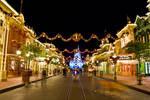 MK Cinderella Castle Xmas 11
