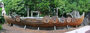 Epcot Norway Viking Ship Stock