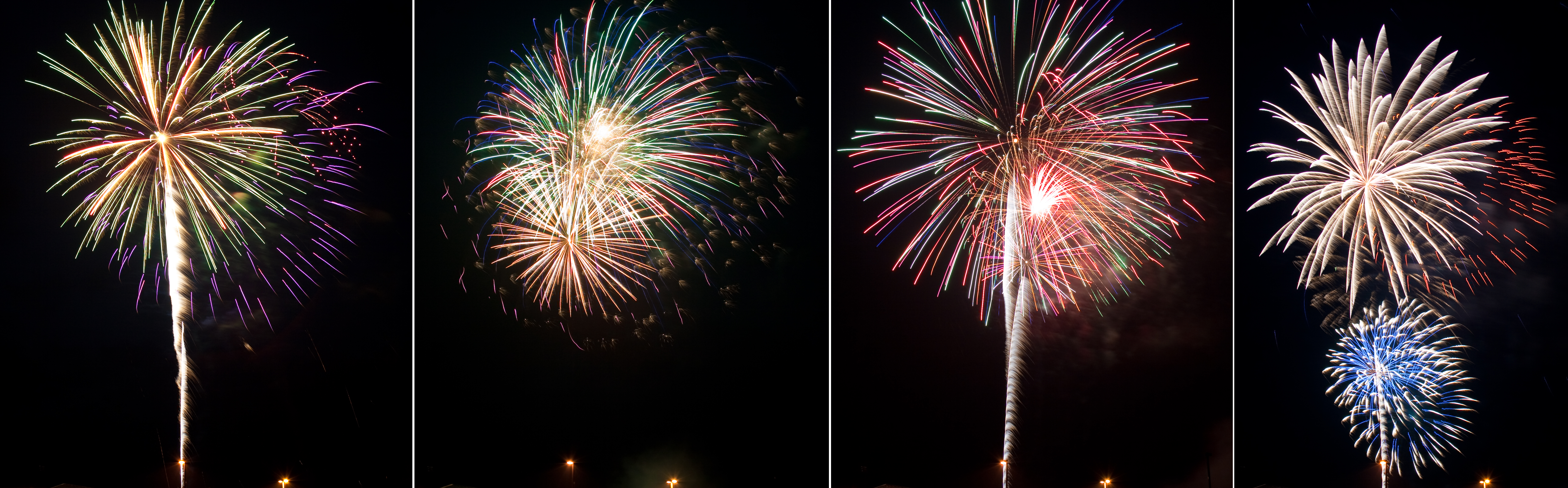 4th of July Fireworks Stock 10 by AreteStock
