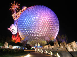 Epcot Spaceship Earth Stock 1 by AreteStock