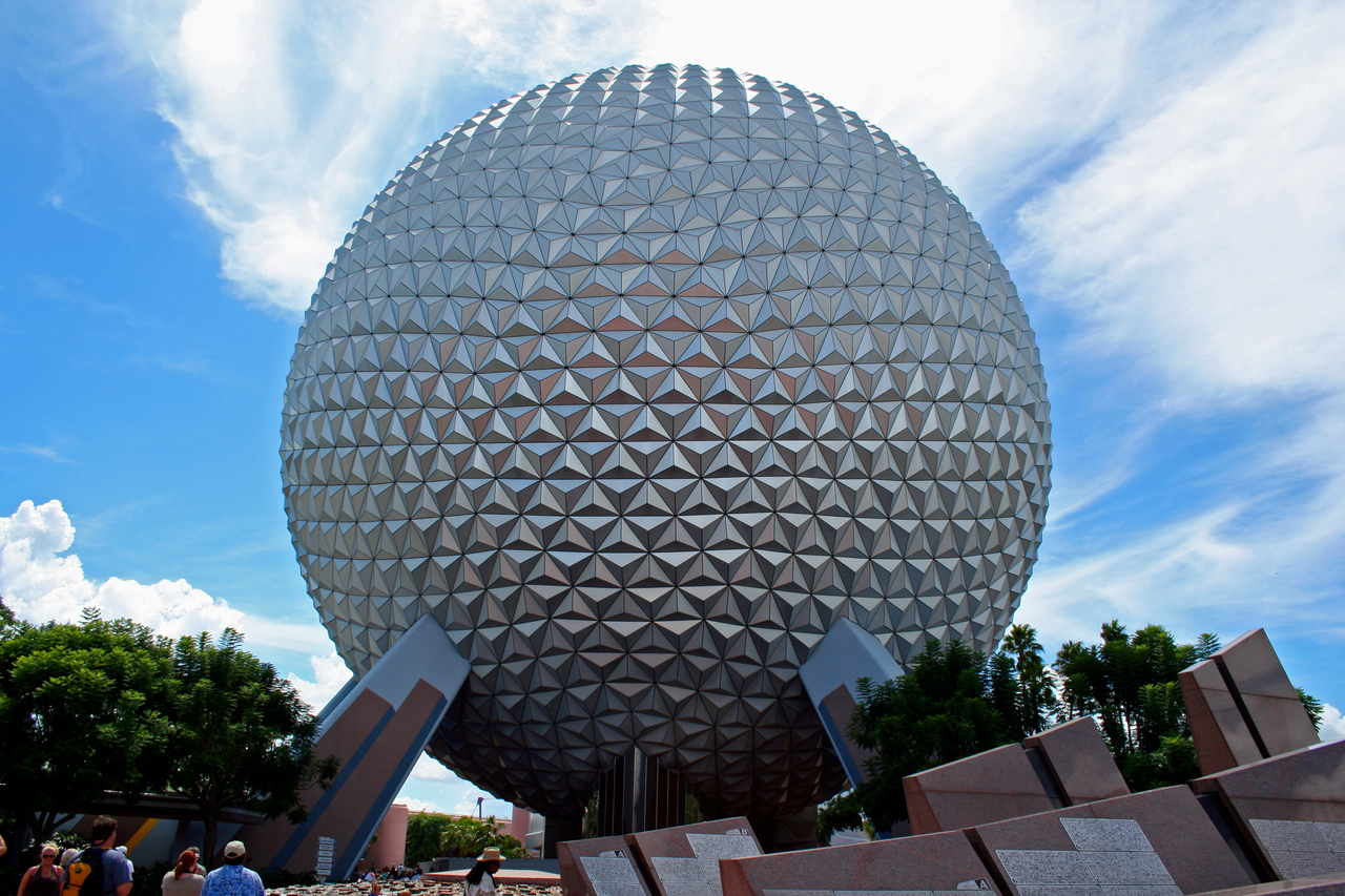 Epcot Spaceship Earth Stock 3 by AreteStockEpcot Spaceship Earth Wallpaper