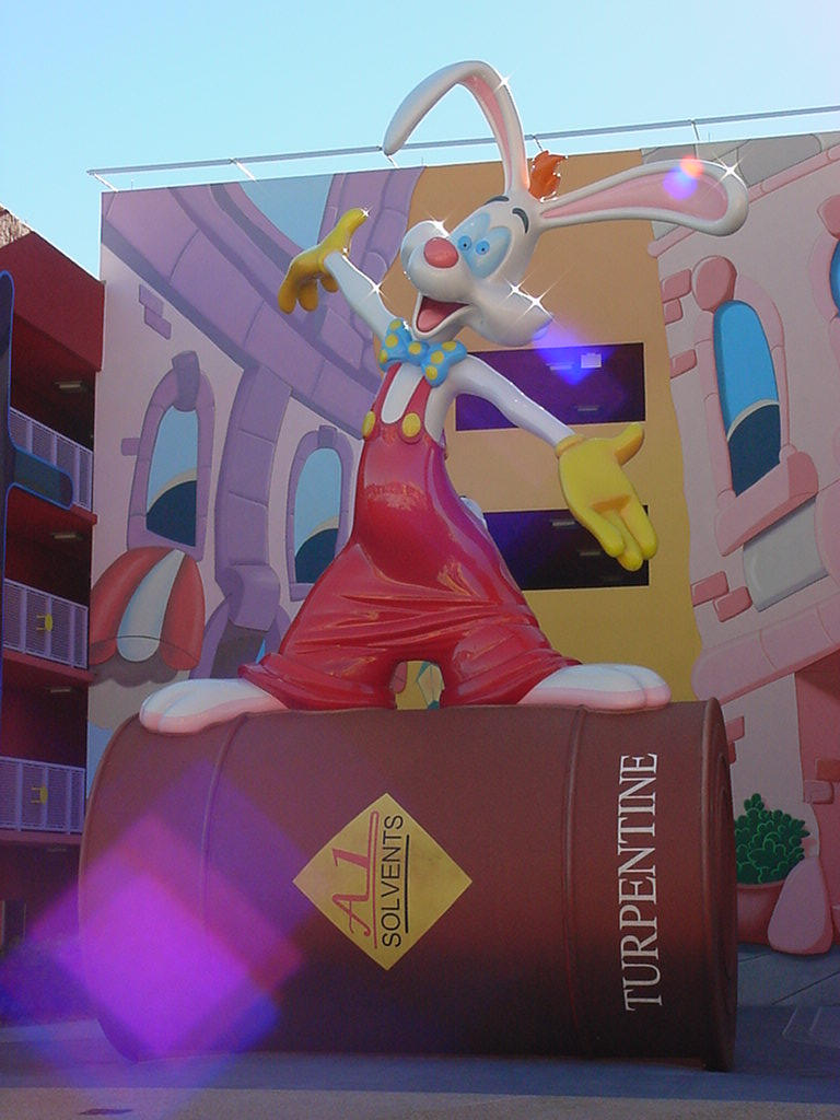 Pop Century Roger Rabbit by AreteStock