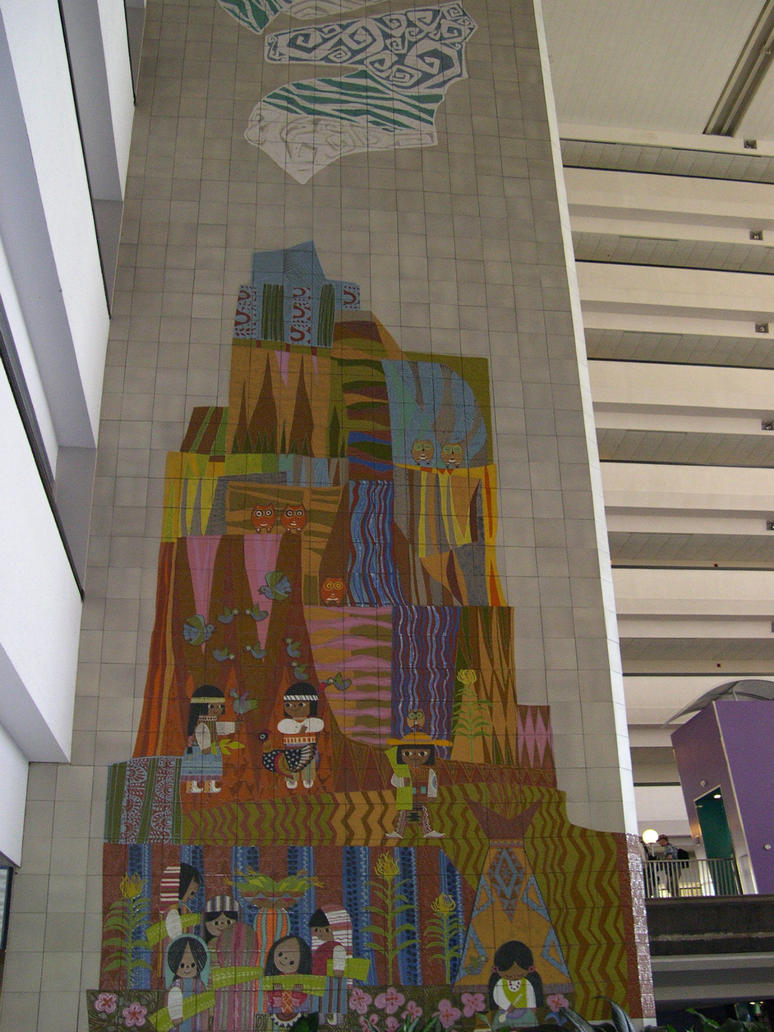 Contemporary mural 5 by aretestock on deviantart for Contemporary resort mural