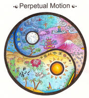 Perpetual Motion-Yin Yang by crystalcollecter