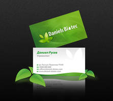 daniels biotec business card by mashine