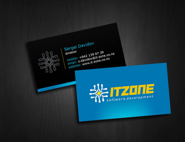 It zone business card by mashine on deviantart colourmoves