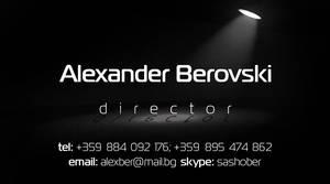 business card by mashine