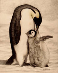 Rocky's Penguins by Nealism