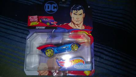 New Superman hot wheels by Kingdomhearts1994
