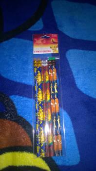 I got lion king pencils