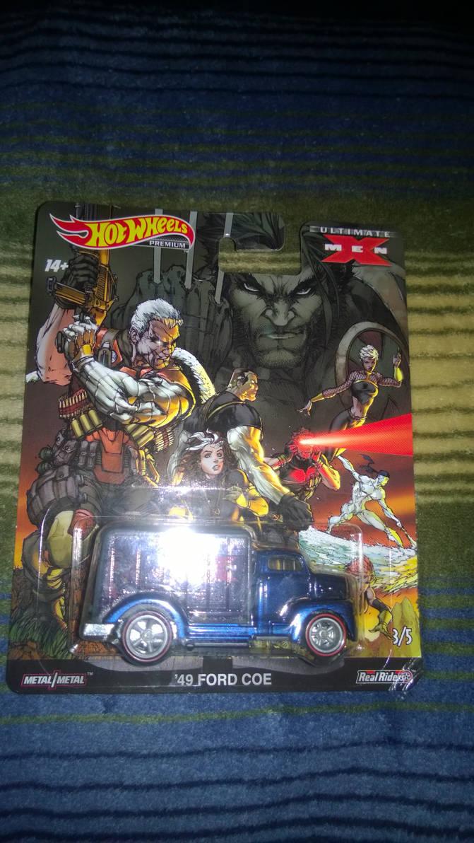 I got new X-men hot wheels