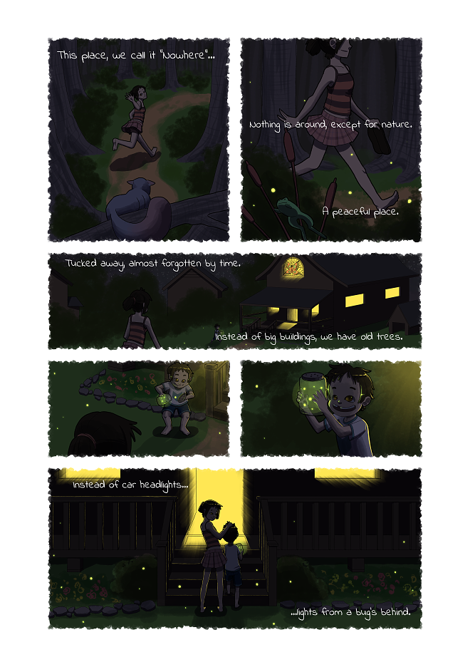 This Place Called Nowhere Page 4/5 by BlueCorvid