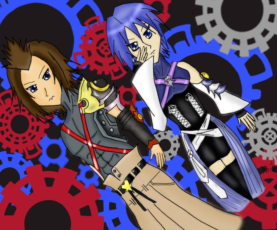 Terra X Aqua by Cinderella-hime