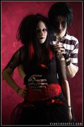 Sam and Matt by plasticpuppet