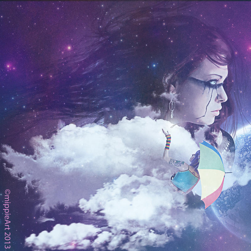 Cosmic Love by mippieArt