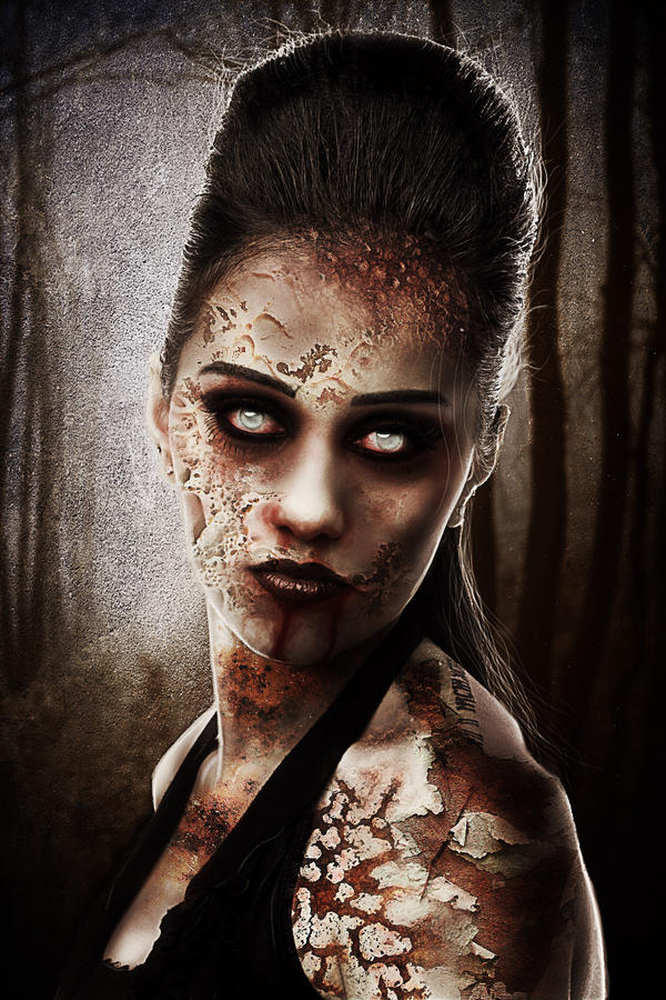 Zombie Queen by TriZiana