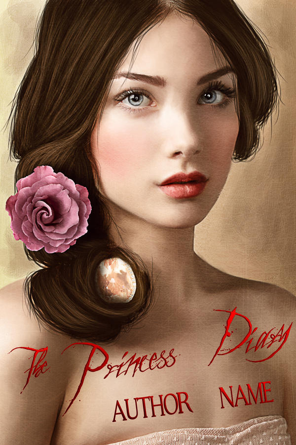 The Princess' Diary -  Premade Cover by mippieArt