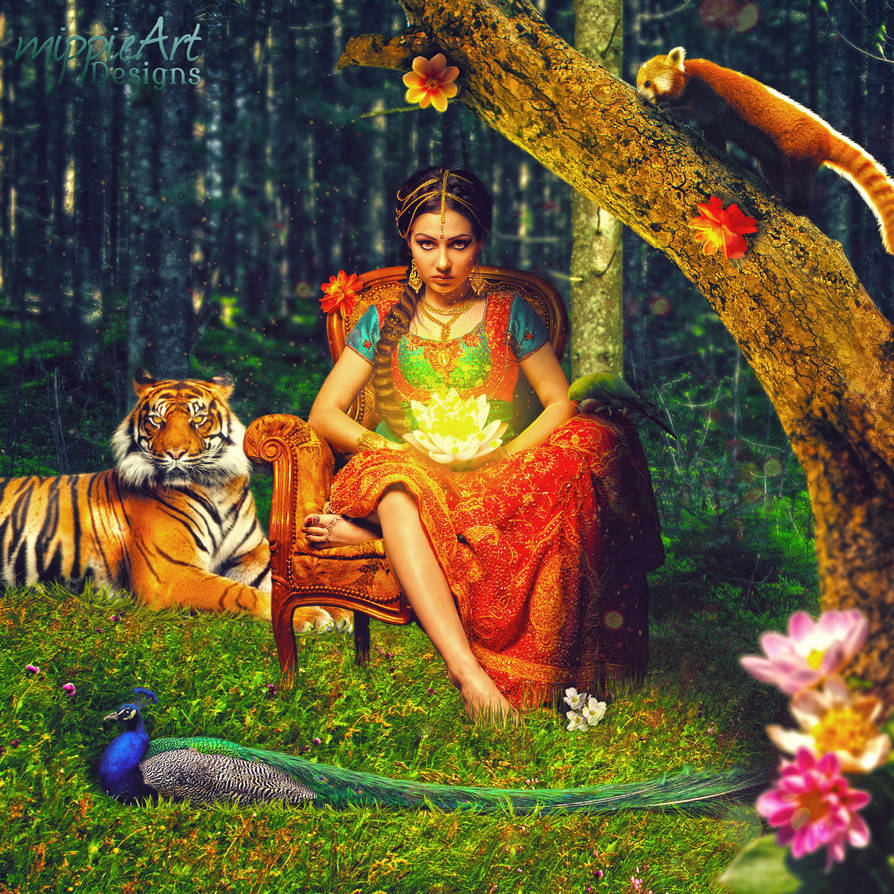 The Indian Princess by TriZiana