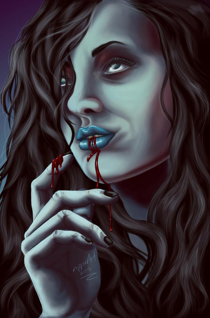 Blood Lust by mippieArt
