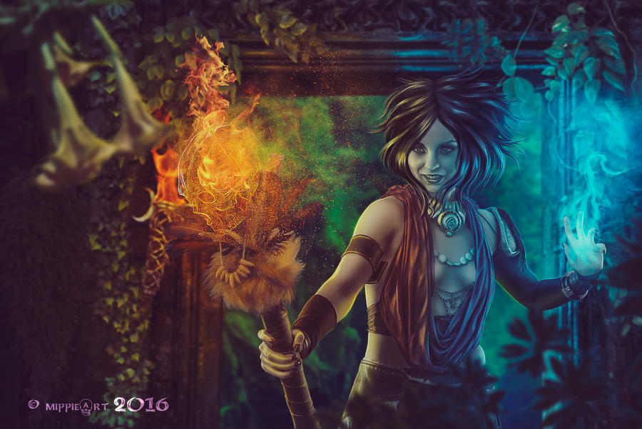 Shamanesque by TriZiana