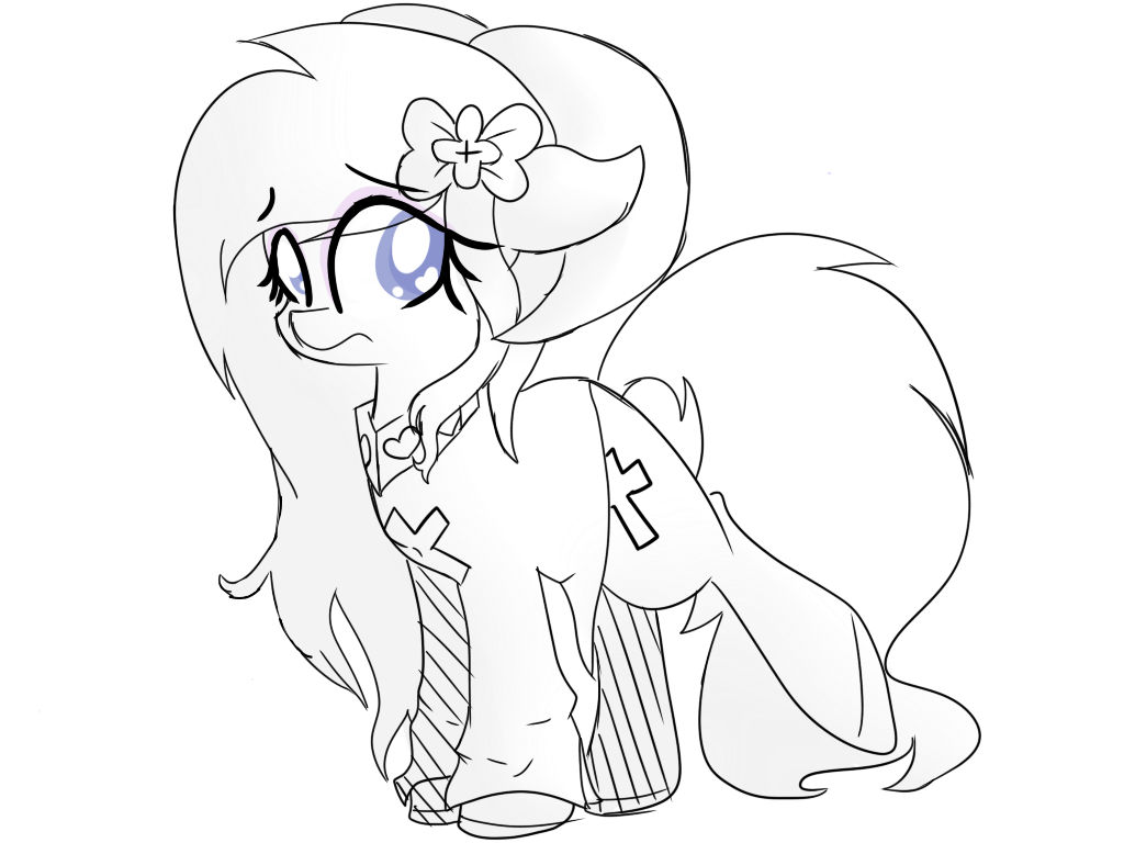 Sketch - Do not look T v T by GypsyCuddles
